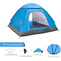 Amagoing Portable Tent Family Outdoor Large Waterproof...