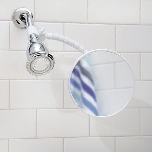 Bathroom mirror Anti Fog Shower Shaving Mirror Fog Free Fogless Flexible Arm