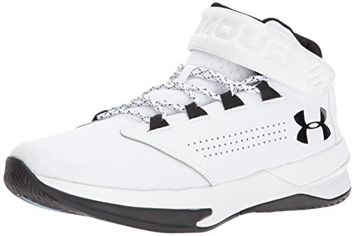 Under Armour Men's Get B Zee Basketball Shoe 100/White, 9 (One Basketball Shoes)