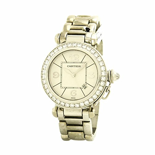Cartier Pasha swiss-automatic womens Watch WJ1116M9 (Certified Pre-owned)
