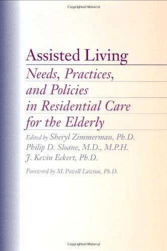 Download Assisted Living: Needs, Practices, and Policies in Residential Care for the Elderly Pdf