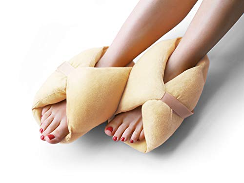 - Heel Protectors - Protector Cushions for Bed Sores - One Pair of Pressure Sore Foot Pads Pillows Suitable for Heels Feet Ankle Elbow