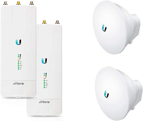 Ubiquiti airFiber AF-5X x2 PRE-CONF 5GHz 200+km + Antena ...