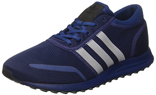 adidas los Angeles, Zapatillas Unisex Adulto, Gris Azul (Mystery Blue/ftwr White/core Black)