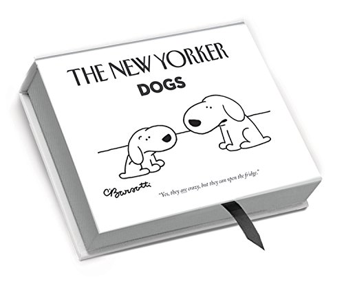 The New Yorker NYB04 Deluxe Boxed Cartoon Notecards - Dogs