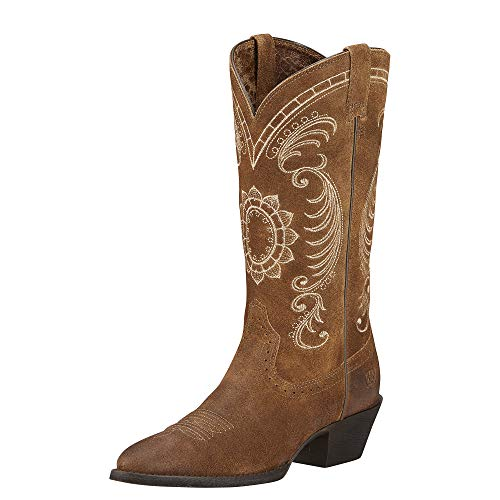 (ARIAT Women's Magnolia Western Boot Antique Mocha Size 8.5 M Us)