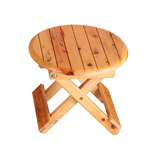 Folding Stool, Folding Small Bench, Solid Wood Stool, Non-plastic Stool, Fishing Stool, Children's Stool by PM-Folding Stools (Image #7)