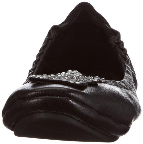 Lise Lindvig ELLA 131 218 95 - Bailarinas de cuero para mujer Negro (Schwarz (Black 95))
