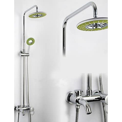 OFF SAEKJJBathroom Wall Mounted Single Handle Rain Shower Faucet - 8 inch single handle bathroom faucet