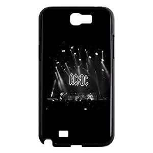 AC/DC-ACDC Black Ice ROCK BAND MUSIC SERISE PROTECTIVE CASES For Samsung Galaxy Note 2 Case HQV479669633