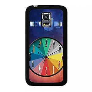 Fan Art Doctor Who Samsung Galaxy S5 MINI Case,Doctor Who Phone Case Black Hard Plastic Case Cover For Samsung Galaxy S5 MINI