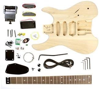 Stellah sin cabeza guitarra eléctrica Kit de bricolaje proyecto ...
