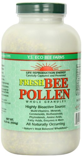 Fresh Bee Pollen Whole Granules - 16 oz. - Granules (Granules Pollen Bee)