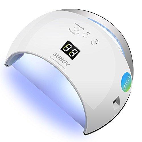 SUNUV SUN6 36W UV Nail Lamp Led Nail Dryer for Gels Nail Pol