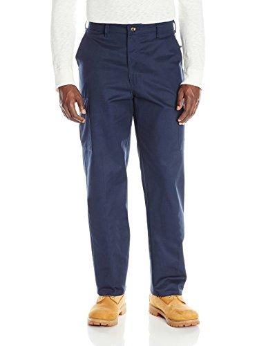 Red Kap Men's Cotton Cargo Pant , Navy, 38x32