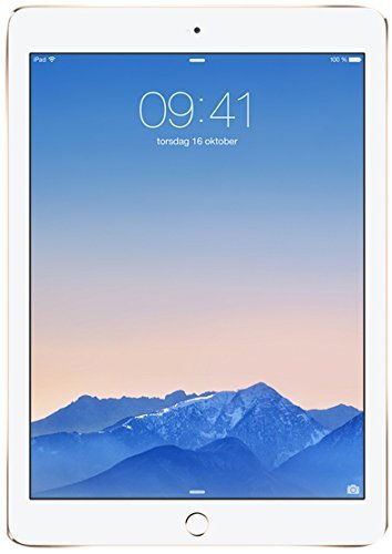 Apple MH332LL/A iPad Air 2 9.7-Inch (128GB, Tri-Core Apple A8X CPU with M8 Chip, Wi-Fi + Cellular)