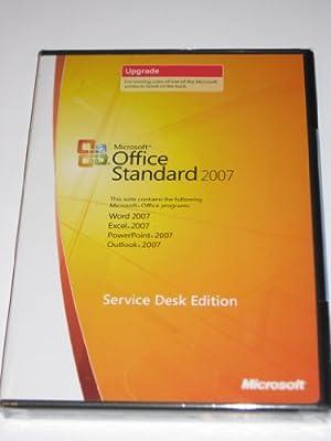 Microsoft Office Standard 2007 UPGRADE - Service Desk Edition