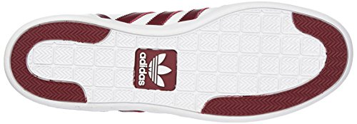 adidas Unisex-Erwachsene Varial Mid High-Top Weiß (Footwear White/collegiate Burgundy/footwear White)