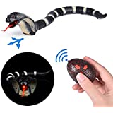 FUN LITTLE TOYS Remote Control Snake Toy, 17 Inch Rechargeable RC Realistic Snake Toy, Halloween Party Favors, Party Supplies