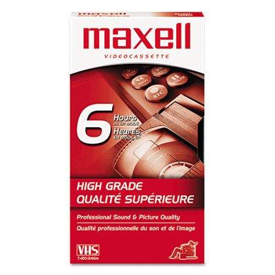 Premium Grade VHS Videotape Cassette [Set of 2] Maxell Corp. Of America MAX224915