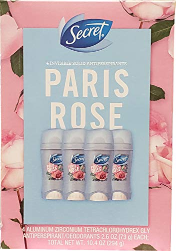 Secret Fresh Paris Rose Apdo Deodorants, 10.4 Ounce