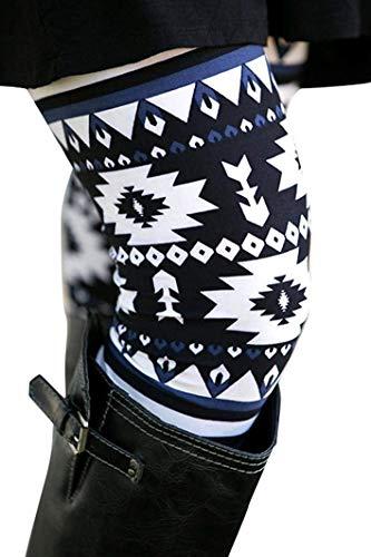 Medium Leggings Casual Skinny 17 9 colore Type Da Donna Dimensione Slim Qiusa Elasticizzati BHxp4qPw4