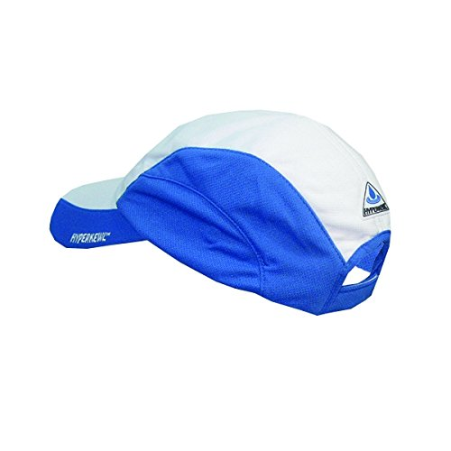 (HyperKewl Evaporative Cooling Sport Cap, Blue/White)