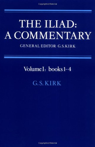 001: The Iliad: A Commentary: Volume 1, Books 1-4 by Brand: Cambridge University Press
