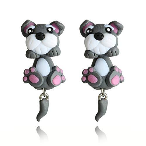 Handmade Polymer Clay Design Fashion Ear Stud Jewelry Animal Earrings Cute Stud Earrings For Women Jewelry