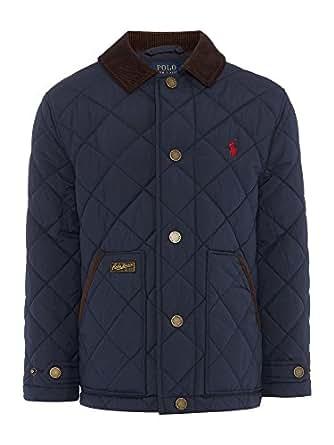 Amazon.com: Polo Ralph Lauren Boys Quilted Jacket Coat