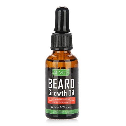 Pan Crecimiento Aceite Hombres Bigote Enhancer Barba Shaping Tool Cuidado Serum Líquido 30ml