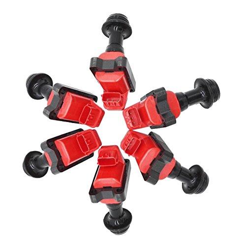 - 6PCS Ignition Coil Pack For Series 1 Nissan Skyline GTR R32 R33 GTS GTR RB20 RB25 RB26DETT