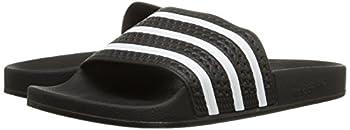 Adidas Originals Men's Adilette Slide Sandal,blackwhiteblack,7 M Us 5
