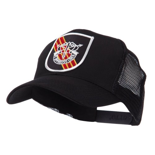 Shield Military Cap - OTTO:ACE WORLD US Army Shield Military Patched Mesh Cap - Special Force OSFM