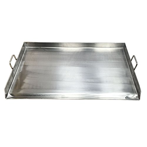 Heavy Duty Stainless Steel 36''x 22'' FLAP TOP GRIDDLE Grill over triple burner by Generic