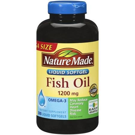 Nature Made Fish Oil Omega-3 1200mg  4 Pack