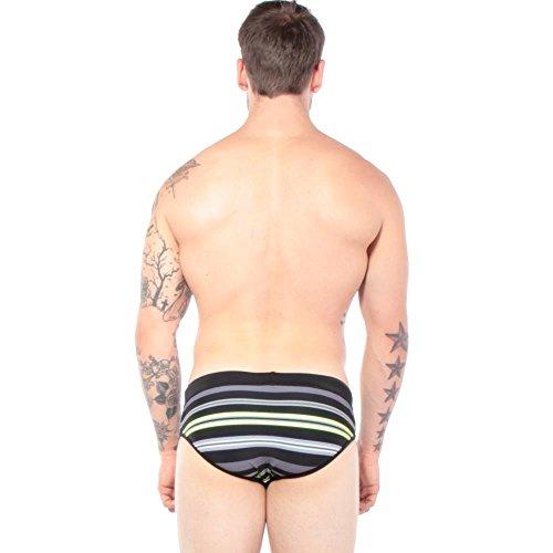 Diesel Men's Petersy Striped Swimming Brief