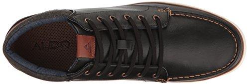 Aldo Mens Ibaliwen-r Mode Sneaker Svart Läder