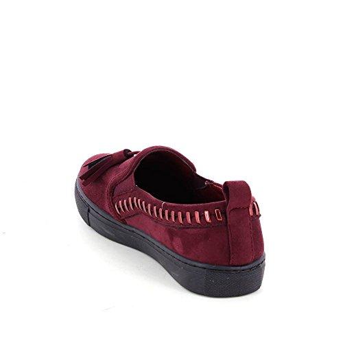 Material Tendance de Sintético Mujer Zapatillas Go Deporte Rojo de fSRnqB