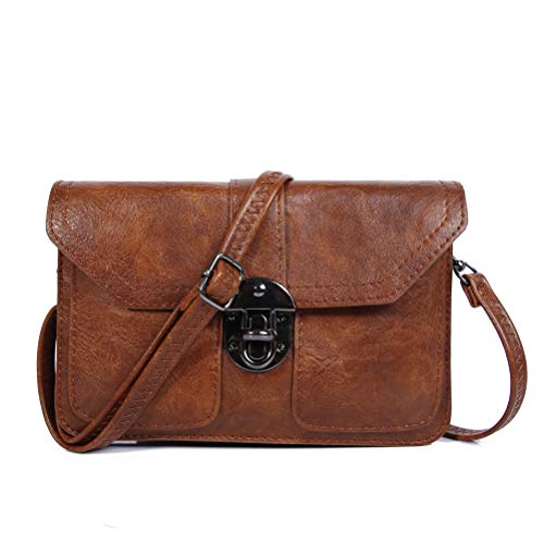 Womens Small Crossbody Bags Cell Phone Wallet Purse Bag for Women by TENXITER