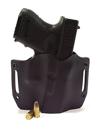 Infused Kydex USA Black OWB Holster (Right-Hand, Walther PPS M2)