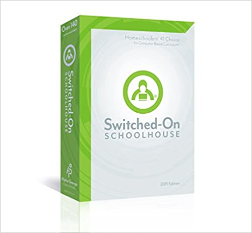2015 Switched on Schoolhouse, 12th Grade, Grade 12, Math Curriculum by AOP (Alpha Omega HomeSchooling), SOS CD-ROM
