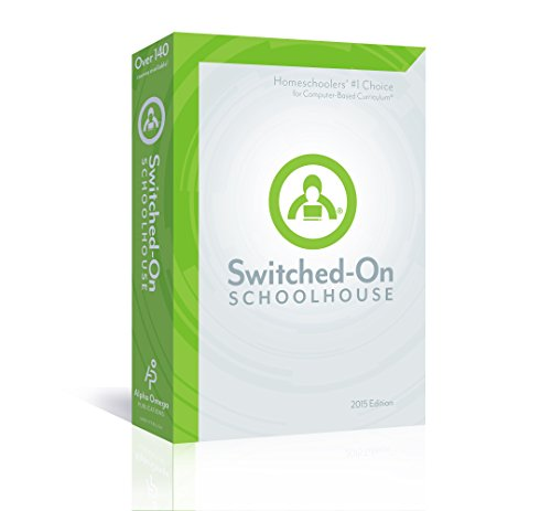 2015 Switched on Schoolhouse, 7th Grade, Grade 7 Language Arts Curriculum by AOP (Alpha Omega HomeSchooling), SOS CD-ROM