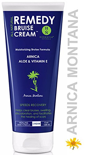 Remedy Moisturizing Bruise Formula Cream   Organic Arnica Montana   Aloe  Shea Butter   Vitamin E Speeds Healing Reduces Pain   Repair Stretch Marks Scars Swelling   Dermatologist Large 4 Oz