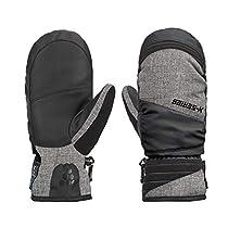 SNOTEK X-Series Womens Ski Gloves, Waterproof & Windproof Winter Gloves for Women