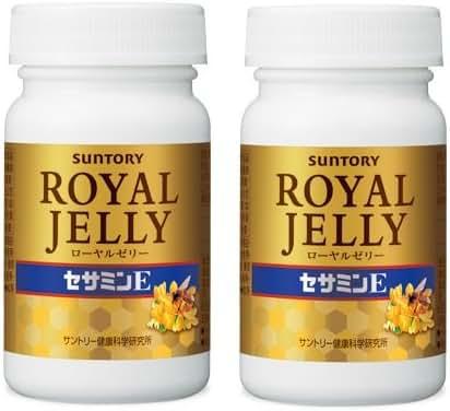 Suntory Royal Jelly + Sesamin E120 Tablets 30 Days×2bottles