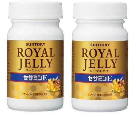 Suntory Royal Jelly + Sesamin E120 Tablets 30 Days×2bottles by Suntory