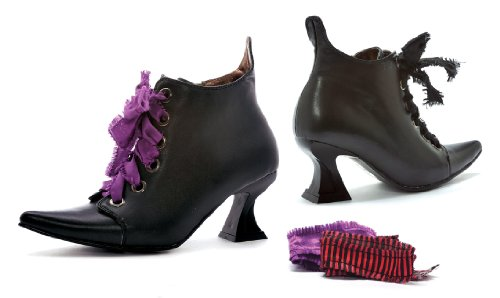 Ellie Shoes Frauen 301-Abigail Ankle Bootie schwarzer Klaps