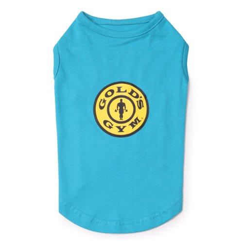 Gold's Gym Cotton Dog Tank Top, Small, 12-Inch, Bluebird, My Pet Supplies