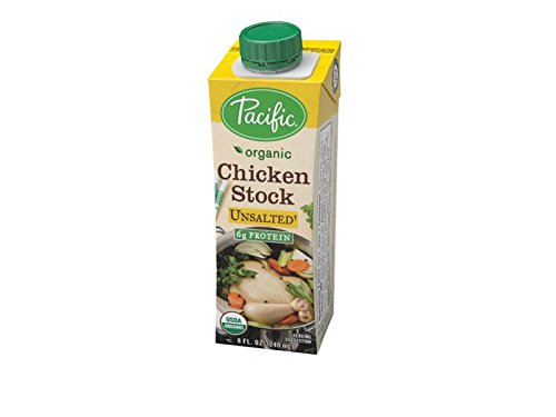 Pacific Foods Stock Chicken Unsalted Organic, 8 oz